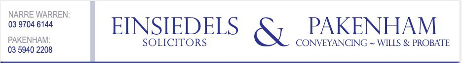 Einsidiedels Solicitors